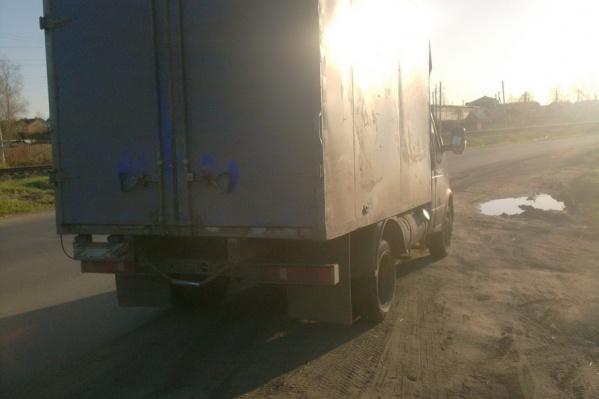 Авария произошла из-за неосторожности водителя