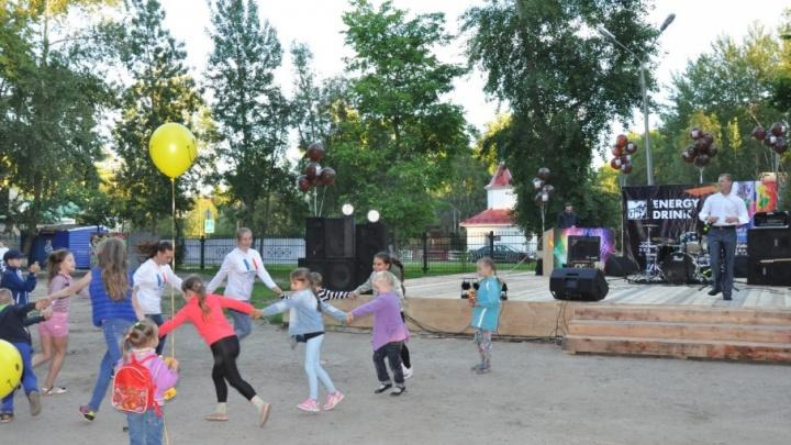 Битва за комфорт: в Новодвинске парк превратили в оазис