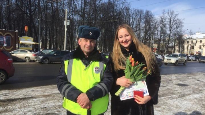 Ярославские гаишники: «Женщины-водители должны быть примером для мужчин»