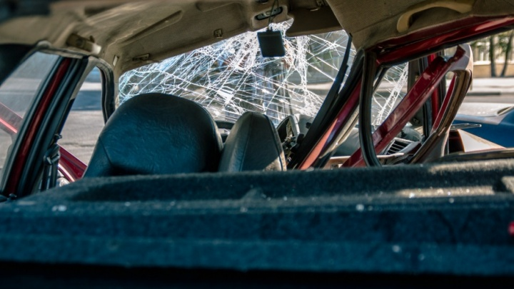На Демократической водитель «Гранты» сбил пешехода-нарушителя