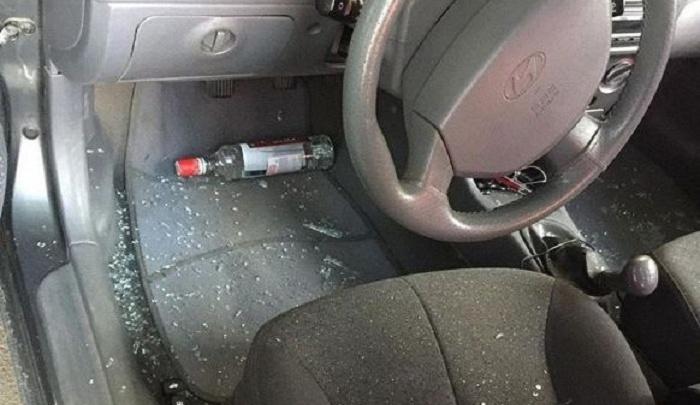 Страховая компания отказала владельцу разбитой бутылкой водки иномарки в компенсации