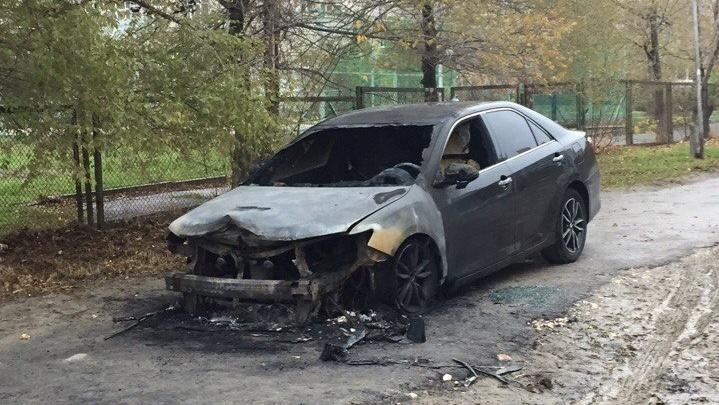 В Волгограде ночью взорвалась иномарка