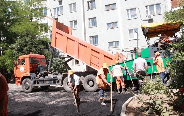 В волгоградских дворах стартует внутриквартальный ремонт