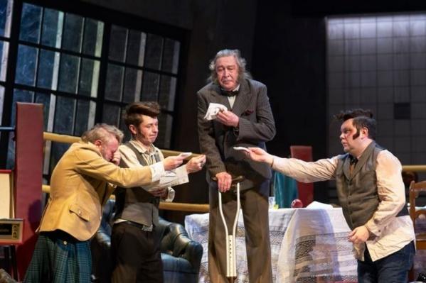 В театре считают ошибкой включение этого спектакля в программу гастролей