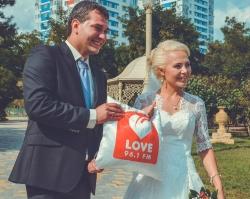 Love Radio Волгоград открыло свадебный сентябрьский сезон
