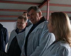 Директор Россельхозбанка в Ярославле с рабочим визитом посетил «Красный Маяк»