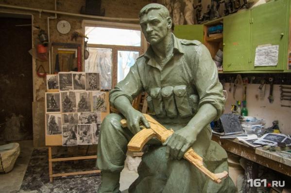 Скульптуры солдат ростовчане увидят в начале мая