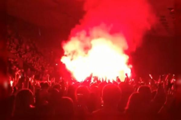 Шесть пермяков зажгли фаер посреди толпы на танцполе