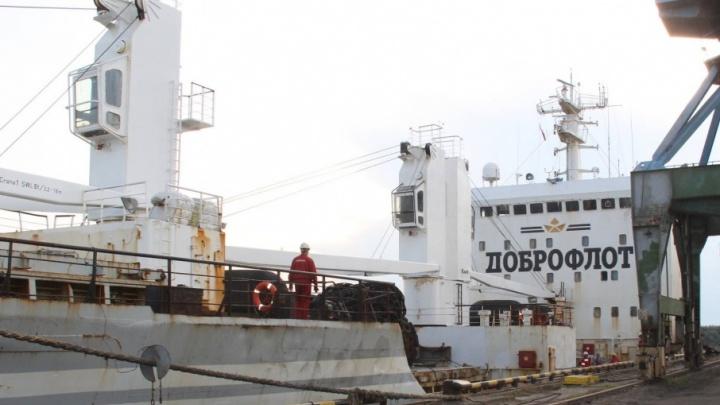 В столицу Поморья впервые привезли рыбу из Владивостока по Севморпути