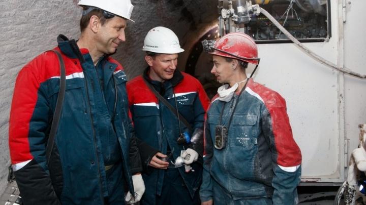 Компанию «Уралкалий» посетил губернатор Пермского края Максим Решетников