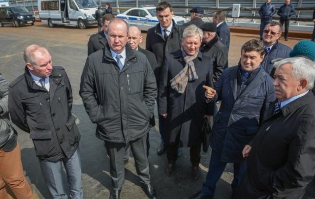 Реконструкцию Ворошиловского моста завершили на 80%