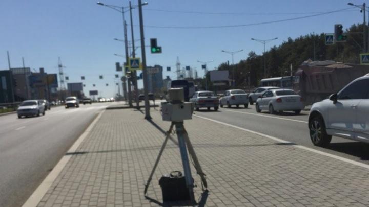 Следят за скоростным режимом: на Московском шоссе установили камеры