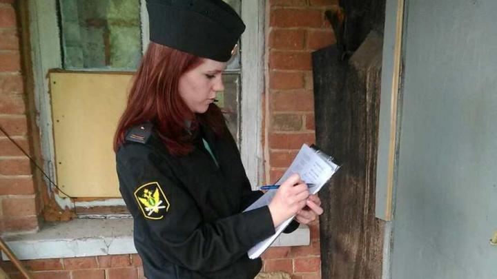 В Похвистнево у местной жительницы арестовали бытовую технику: женщина задолжала государству