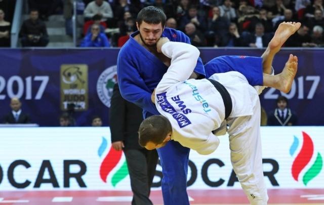 Тюменский дзюдоист Казбек Занкишиев стал лучшим на международном турнире в Грузии
