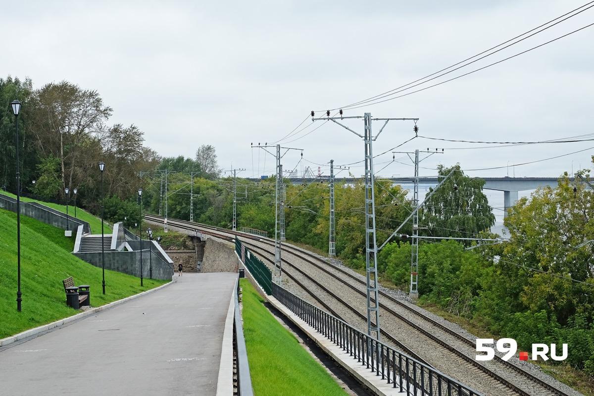 Проект предполагает строительство двух крупных остановок