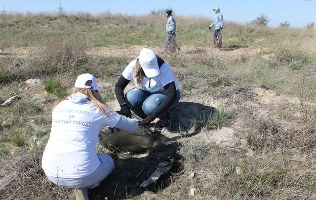 Волгоградские активисты вывезли с Лысой горы более 300 кубометров мусора