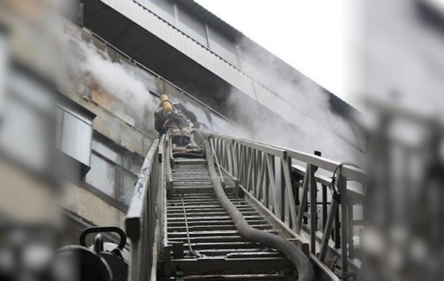 В Самаре пожарные эвакуировали 20 человек из многоэтажки на улице Георгия Димитрова