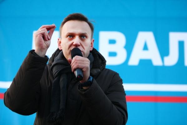 Алексей Навальный прибыл на встречу в Челябинск почти вовремя