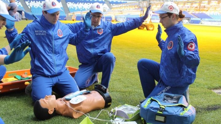 Вылечат насморк и спасут от смерти: медики провели тренировку на «Самара Арене»