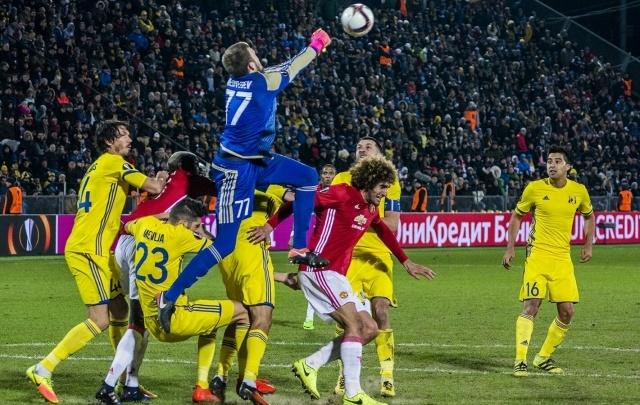 ФК «Ростов» сыграл вничью с «Манчестер Юнайтед» в Лиге Европы