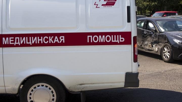 Под Ростовом столкнулись два большегруза