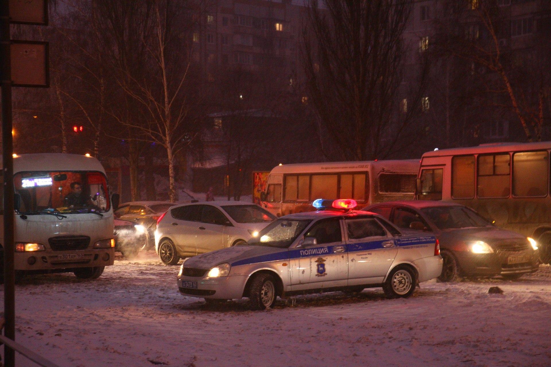 Полиция останется на месте ЧП до окончания всех работ