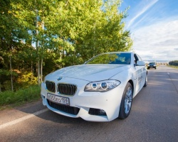 Меняем сезон со скоростью BMW