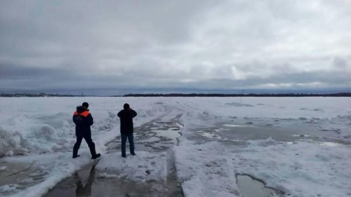 Сегодня в Архангельске закроют переправу Хабарка — Бревенник