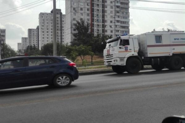 «Пожарки» из других областей уже на улицах Волгограда