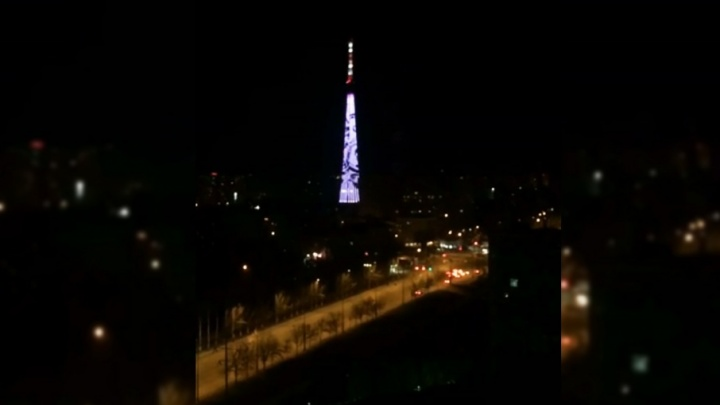 В Самаре запустят подсветку на телебашне
