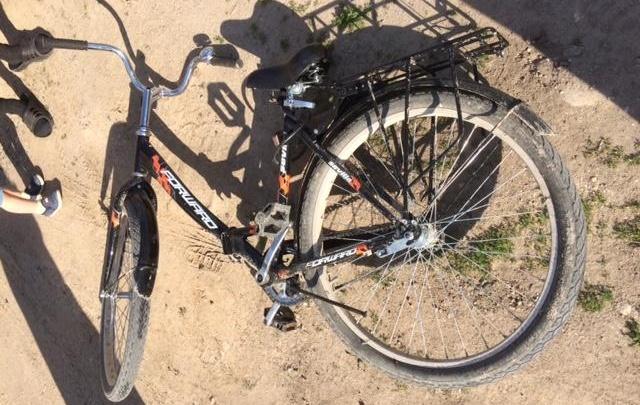 В Плесецке юный велосипедист столкнулся с пьяным водителем скутера