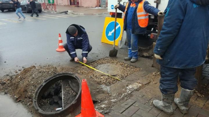 Ко дню города в Ярославле отремонтируют все люки