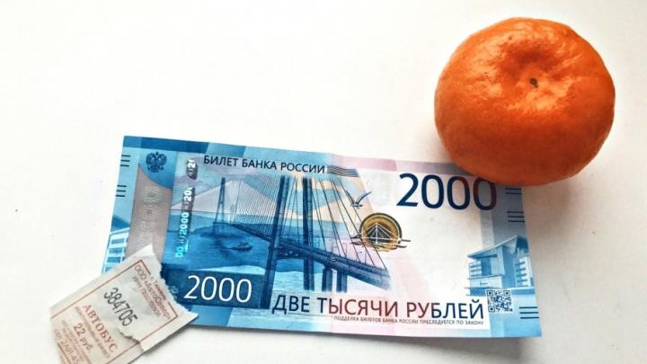 Возьмут или откажутся: пробуем расплатиться купюрой 2000 рублей в тюменских автобусах и магазинах