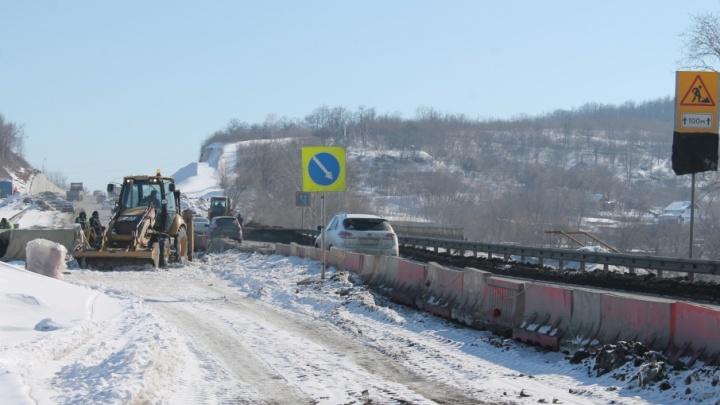 Обновят дорожное полотно: ремонтировать Красноглинское шоссе начнут в конце мая
