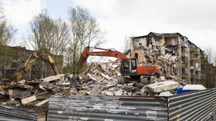 В Ярославле пострадавший от взрыва газа дом могут оставить жилым