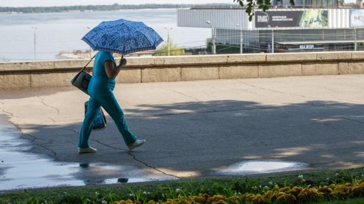 Волгоград будет испепелять сильной жарой до самого конца августа