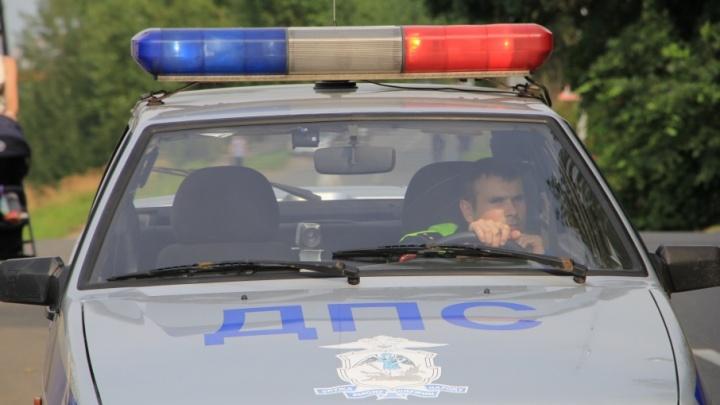 В Северодвинске двое детей получили ушибы в аварии на Солзенском шоссе