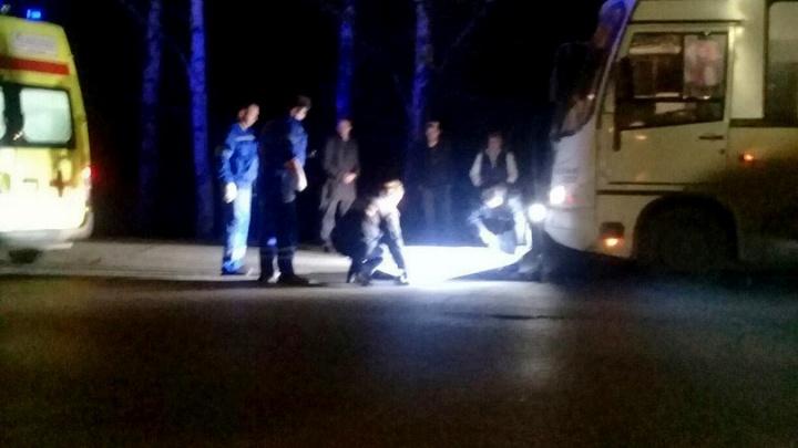 Полиция рассказала подробности ДТП, в котором маршрутка насмерть сбила пешехода