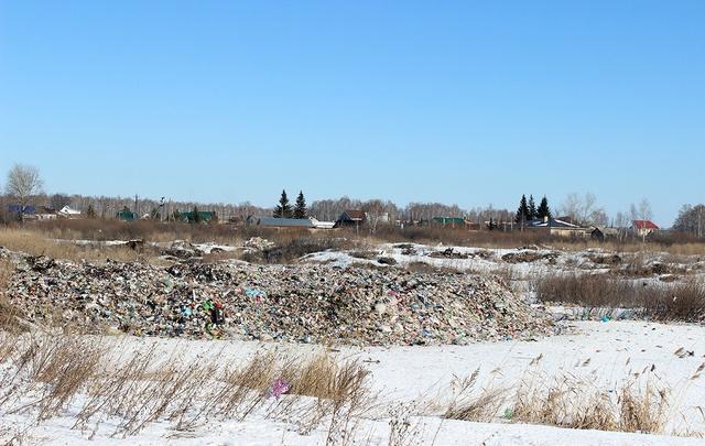 Жителей посёлка под Челябинском спасут от дурного запаха со свалки к концу мая