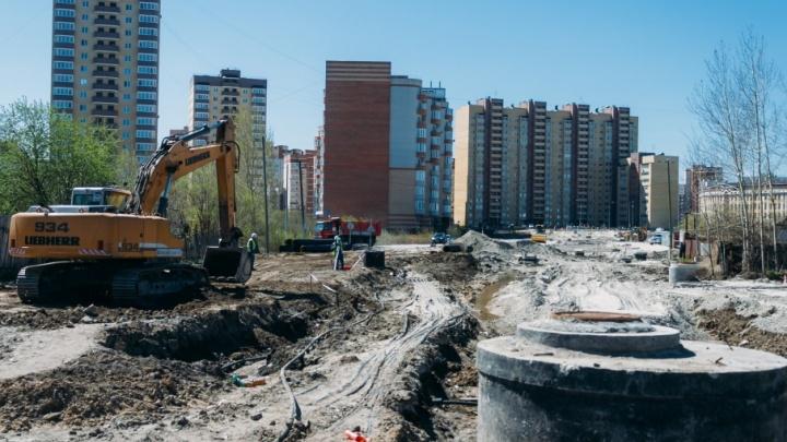 Улицу Энергостроителей продлят до бульвара Бориса Щербины