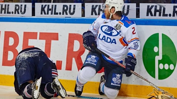 «Забили в большинстве»: «Лада» обыграла «Металлург» в матче КХЛ