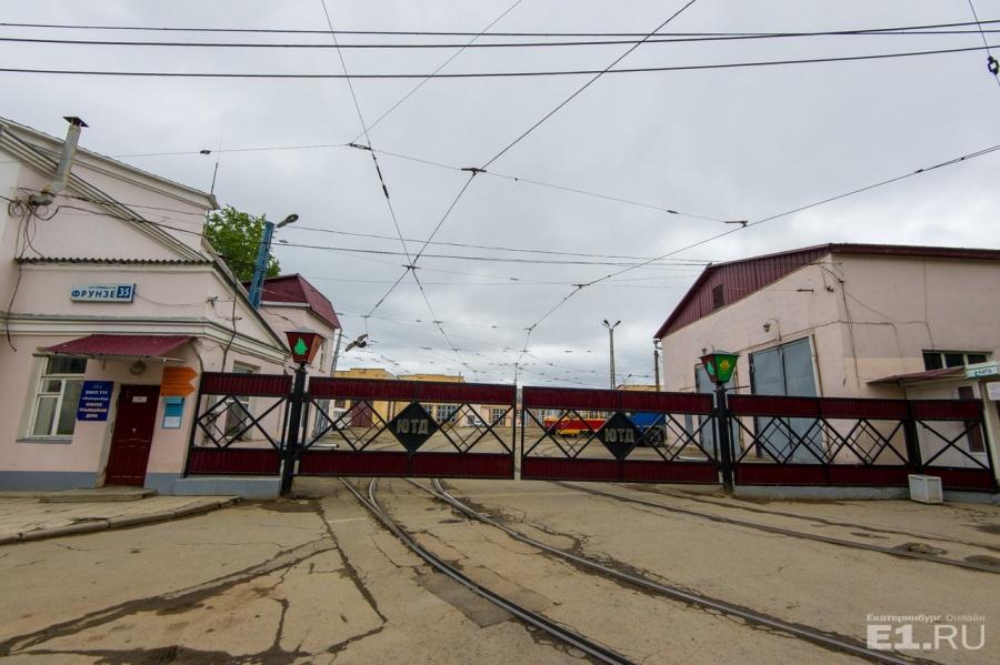 Улица Чапаева упирается в депо.