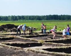 На территории будущего Томинского ГОКа обнаружено поселение, подобное Аркаиму