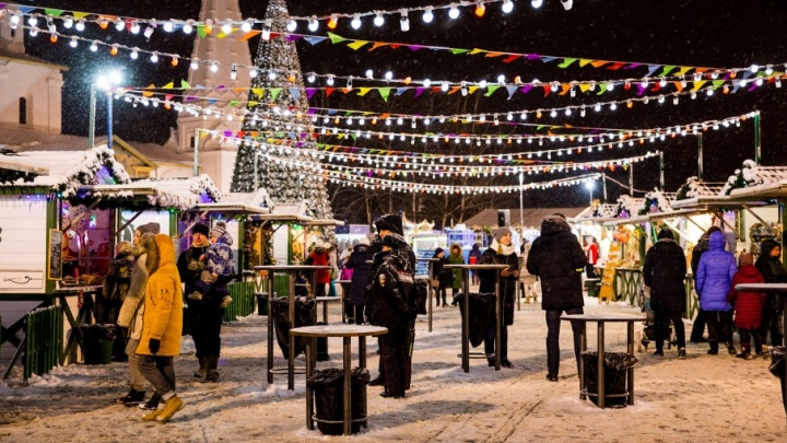 Новогоднюю ярмарку на Советской назвали лучшим событием в России