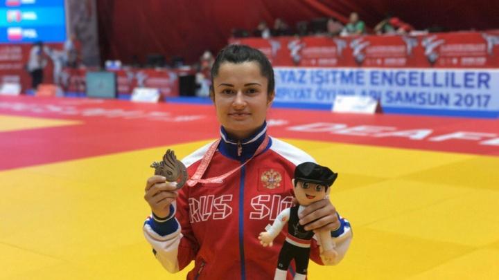 Южноуральская дзюдоистка выиграла сурдлимпийское серебро