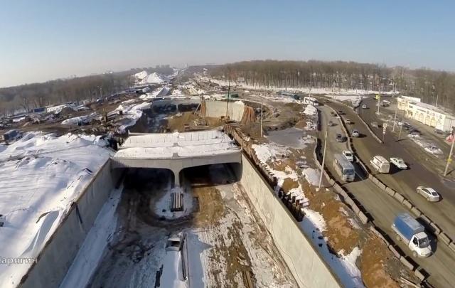 Подрядчика реконструкции Московского шоссе оштрафовали на 150 тысяч рублей за грязные знаки