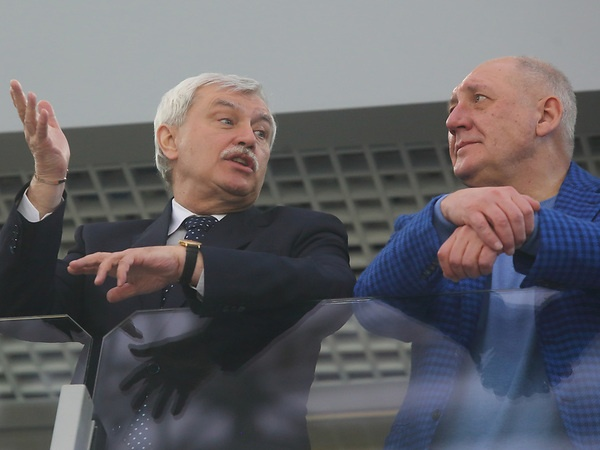 Георгий Полтавченко и Александр Говорунов//Замир Усманов/Интерпресс