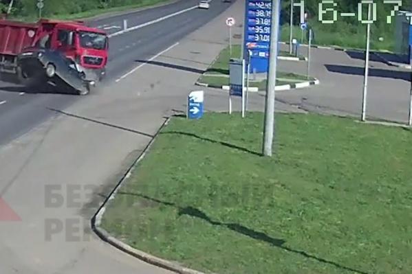 У водителя легковушки не было шансов выжить