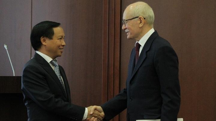 Вьетнамская корпорация построит в Башкирии молочные комплексы