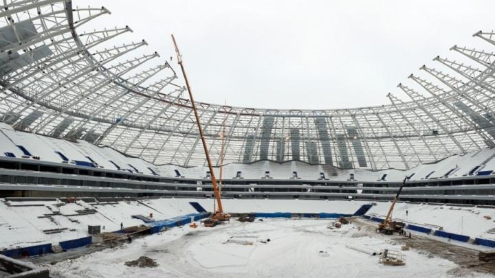 Укладывать газон на стадионе «Самара Арена» начнут не раньше января